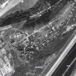 Letecký snímek Barrandova z roku 1953