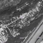 Letecký snímek Barrandova z roku 1975