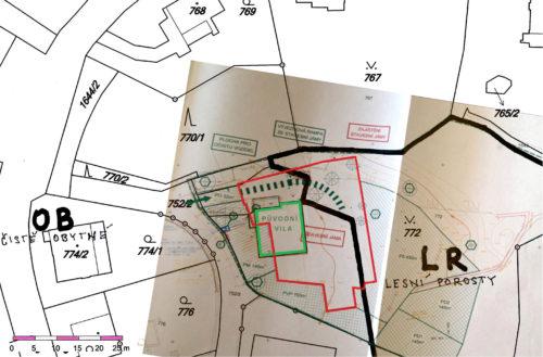 Porušení územního plánu názorně