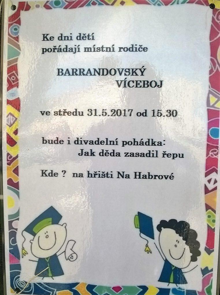Plakát dětského dne 2017