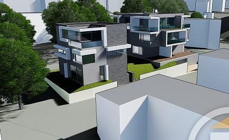 2 domy v projektu Filmařská 12