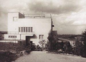 Skalní 17 - Vodnikova vila arch Stockera v roce 1933