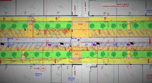 Projekt rekonstrukce ulice Lumiérů