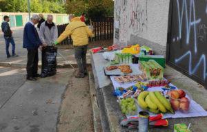 Občerstvení pro účastníky akce